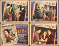 "Movie Posters:Crime, Alibi (United Artists, 1929). Title Lobby Card and Lobby Cards (3)(11"" X 14"").. ... (Total: 4 Items)"