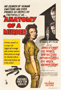 "Movie Posters:Drama, Anatomy of a Murder (Columbia, 1959). Australian One Sheet (27"" X 40"").. ..."