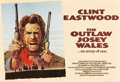 """Movie Posters:Western, The Outlaw Josey Wales (Warner Brothers, 1976). British Quad (30"""" X 40"""").. ..."""