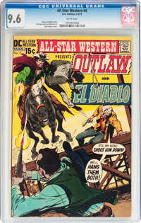 All-Star Western #4 (DC, 1971) CGC NM+ 9.6 White pages