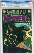 Silver Age (1956-1969):Horror, House of Mystery #179 (DC, 1969) CGC VF+ 8.5 White pages....