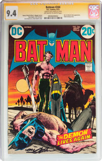 Batman #244 Signature Series (DC, 1972) CGC NM 9.4 Off-white to white pages