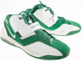 Basketball Collectibles:Others, Paul Pierce Game Worn Boston Celtics Shoes....