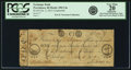Obsoletes By State:Rhode Island, Providence, RI - Exchange Bank $1 February 2, 1813 Contemporary Counterfeit RI-290 C4a, Durand 1281. PCGS Very Fine 20 Apparen...