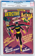 Silver Age (1956-1969):Superhero, Detective Comics #359 (DC, 1967) CGC GD/VG 3.0 Light tan to off-white pages....