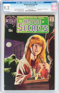 House of Secrets #92 (DC, 1971) CGC NM- 9.2 Off-white to white pages