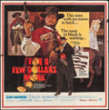 """Movie Posters:Western, For a Few Dollars More (United Artists, 1967). Six Sheet (79.5"""" X80""""). Western.. ..."""
