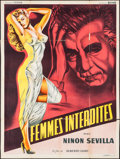 "Movie Posters:Foreign, Sensualidad (Sonofilm, 1951). French Grande (47"" X 63""). Foreign.. ..."