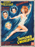 """Movie Posters:Comedy, Skirts Ahoy! (MGM, 1952). French Grande (47.25"""" X 63""""). Comedy.. ..."""