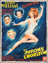 """Skirts Ahoy! (MGM, 1952). French Grande (47.25"""" X 63""""). Comedy"""