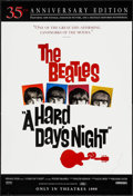 "Movie Posters:Rock and Roll, A Hard Day's Night (Miramax, R-1999). 35th Anniversary One Sheet(27"" X 40"") DS Advance. Rock and Roll.. ..."