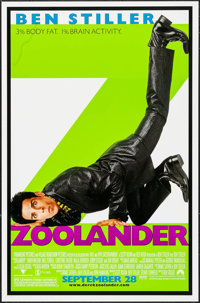 "Zoolander & Other Lot (Paramount, 2001). One Sheets (2) (26.25"" X 40"" & 27"" X 40"") D..."