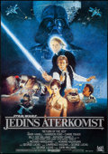 """Movie Posters:Science Fiction, Return of the Jedi (20th Century Fox, 1983). Swedish One Sheet (27.5"""" X 39.25""""). Science Fiction.. ..."""