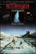 "Movie Posters:Science Fiction, Return of the Jedi (PolyGram Records, 1983). Soundtrack Poster (22""X 33"") and Commercial Poster (22"" X 34""). Science Fictio... (Total:2 Items)"