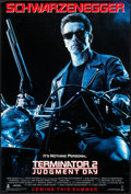 "Movie Posters:Science Fiction, Terminator 2: Judgment Day (Tri-Star, 1991). One Sheet (26.75"" X39.75"") SS Advance. Science Fiction.. ..."
