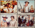 """Movie Posters:Western, The Undefeated & Others Lot (20th Century Fox, 1969). Lobby Cards (4) (11"""" X 14""""), One Sheets (5) (27"""" X 41""""), Insert (14"""" X... (Total: 10 Items)"""