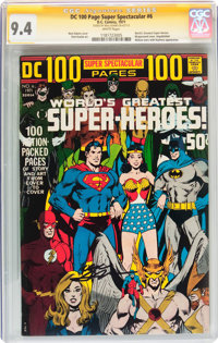DC 100-Page Super Spectacular #6 Signature Series (DC, 1971) CGC NM 9.4 White pages