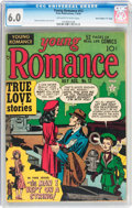 "Golden Age (1938-1955):Romance, Young Romance Comics #12 Davis Crippen (""D"" Copy) Pedigree (Prize,1949) CGC FN 6.0 Off-white to white pages...."