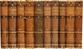 Books:Literature Pre-1900, Anne Thackeray Ritchie. The Works of Miss Thackeray. London:Smith, Elder, & Co., 1876-1890.... (Total: 10 Items)