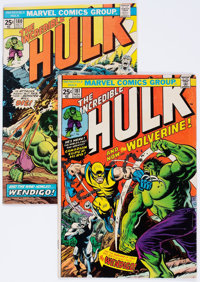 The Incredible Hulk #180 and 181 Group (Marvel, 1974).... (Total: 2 Comic Books)