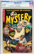 Golden Age (1938-1955):Horror, Mister Mystery #10 (Aragon, 1953) CGC VG/FN 5.0 Off-white to whitepages....