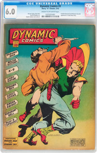 Dynamic Comics #3 (Chesler, 1942) CGC FN 6.0 Cream to off-white pages