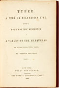 Books:Literature Pre-1900, Herman Melville. Typee: A Peep at Polynesian Life. During a FourMonths' Residence in a Valley of the Marquesas. ...