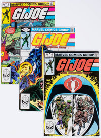 G. I. Joe, A Real American Hero High-Grade Multiple Copies Short Box Group (Marvel, 1980s) Condition: Average NM