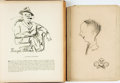 Books:Art & Architecture, [Caricature]. Henry Major. INSCRIBED/LIMITED. Portraits and Caricatures. New York: Charles C. Morchand, [1927]....