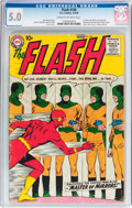 Silver Age (1956-1969):Superhero, The Flash #105 (DC, 1959) CGC VG/FN 5.0 Cream to off-white pages....