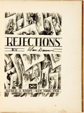Books:Art & Architecture, Alan Dunn. Rejections. New York: Alfred A. Knopf, 1931....