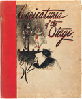 Books:Art & Architecture, Sewell T. Collins, Jr. LIMITED. Caricatures of the Stage. Chicago: The Stratford Press, 1898....