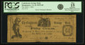 Obsoletes By State:Virginia, Montgomery, VA - Confederate Savings Bank 50 Cents April 1, 1862 Jones & Littlefield PM75-05. PCGS Fine 15 Apparent.. ...