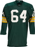 Football Collectibles:Uniforms, Mid 1960's Jerry Kramer Game Worn Green Bay Packers Jersey....