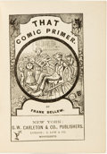 Books:Americana & American History, Frank Bellew. That Comic Primer. New York: G. W. Carleton& Co., 1877....