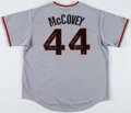Baseball Collectibles:Uniforms, Willie McCovey Signed Giants Jersey....