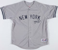 Baseball Collectibles:Uniforms, Whitey Ford Signed New York Yankees Jersey....