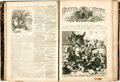 Books:Periodicals, [Bound Periodicals]. Bound Edition of Weekly Periodical Hearthand Home, Vol. I, Nos. 1 - 52. December 26, 1868 - ...