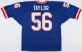 Football Collectibles:Uniforms, Lawrence Taylor Signed New York Giants Jersey....
