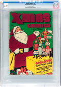 Golden Age (1938-1955):Superhero, Xmas Comics #4 (Fawcett Publications, 1949) CGC FN/VF 7.0 Off-white pages....