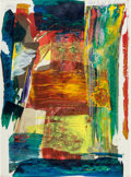 Post-War & Contemporary:Abstract Expressionism, Paul Jenkins (American, 1923-2012). Portrait New York NewYork, 1981. Screenprint and acrylic on paper. 45-1/2 x 33-1/2...