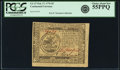 Colonial Notes:Continental Congress Issues, Continental Currency February 17, 1776 $5 Fr. CC-27. PCGS ChoiceAbout New 55PPQ.. ...