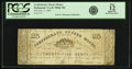Obsoletes By State:Virginia, Richmond, VA - Confederate Oyster House 25 Cents February 3, 1862 Jones & Littlefield PR60-184. PCGS Fine 12 Apparent.. ...