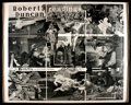 Books:Prints & Leaves, [Poetry]. Framed Promotional Poster for Robert Duncan Readings atLe Conte School Auditorium. Dated March 6 and 13, 1970. ...