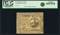 Colonial Notes:Continental Congress Issues, Continental Currency May 9, 1776 $2 Fr. CC-32. PCGS Gem New 66PPQ.....
