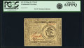 Colonial Notes:Continental Congress Issues, Continental Currency May 9, 1776 $3 Fr. CC-33. PCGS Choice New63PPQ.. ...