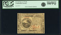 Colonial Notes:Continental Congress Issues, Continental Currency May 9, 1776 $6 Fr. CC-36. PCGS Choice AboutNew 58PPQ.. ...