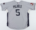 Baseball Collectibles:Uniforms, 2008 Albert Pujols Signed National League All Star Jersey....