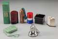 Art Glass, Eight Various Boxed Perfumes, circa 1930-1960. 6-1/4 inches high (15.87 cm) (tallest). ... (Total: 16 Items)
