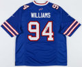 Football Collectibles:Uniforms, Mario Williams Signed Buffalo Bills Jersey....